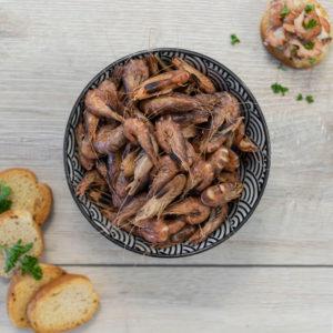 Crevettes grises